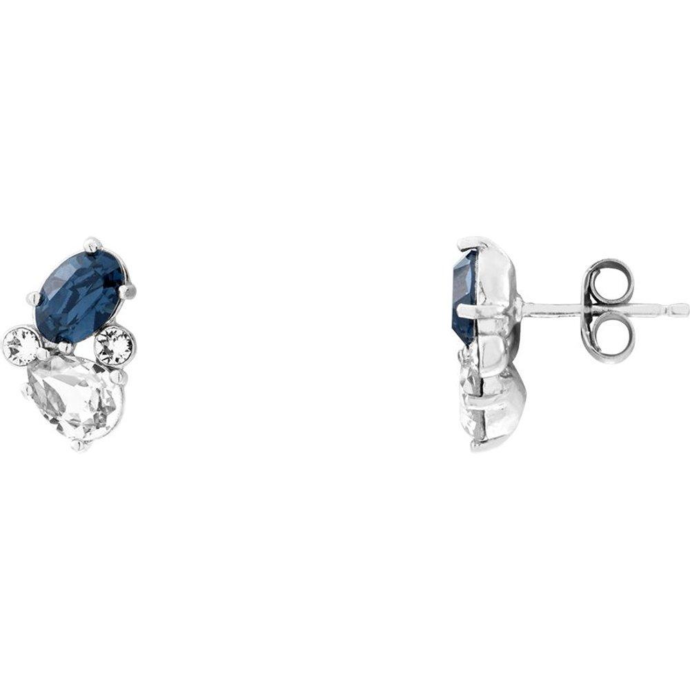 Boucles d'oreilles en Argent 925/1000 et Cristal de Swarovski - CLEOR - Modalova