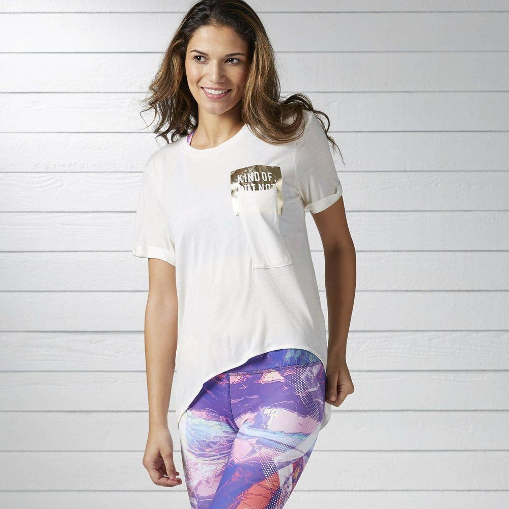 T-shirt Dance Pocket - REEBOK SPORT - Modalova