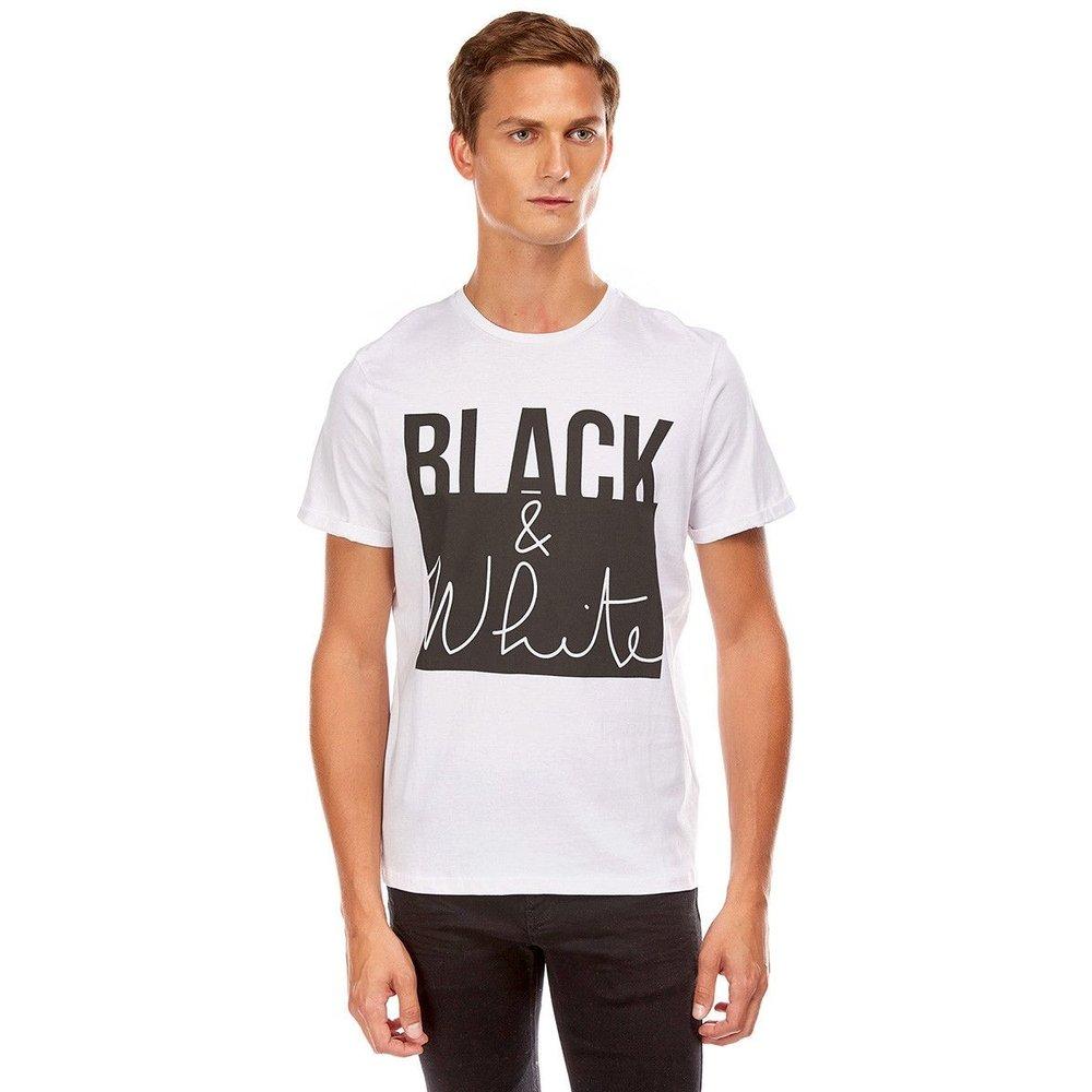 "Tee shirt ""Black and white"" - BEST MOUNTAIN - Modalova"