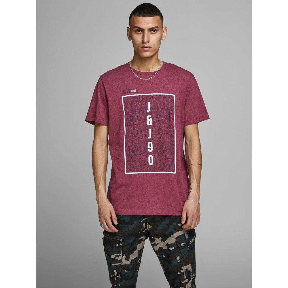 T-Shirt Imprimé géométrique - jack & jones - Modalova