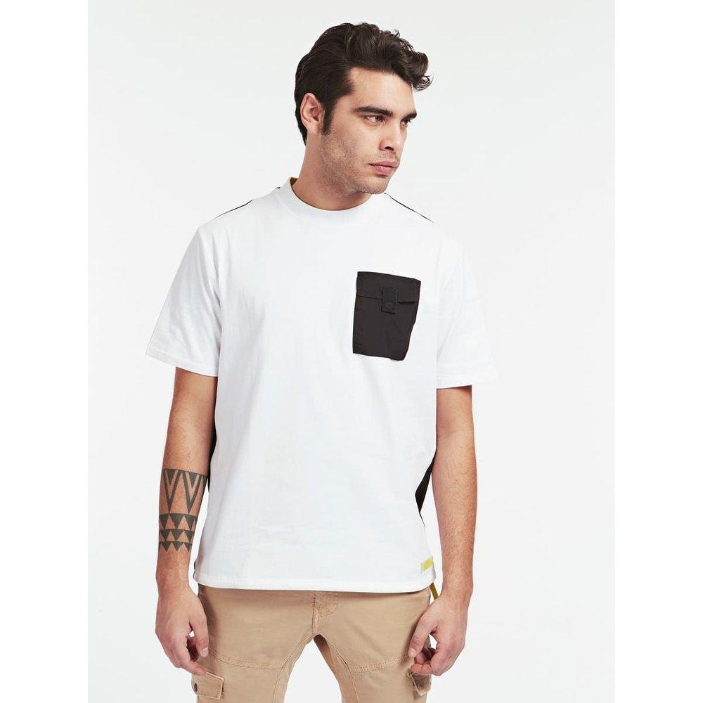 T-Shirt Poche En Contraste - Guess - Modalova