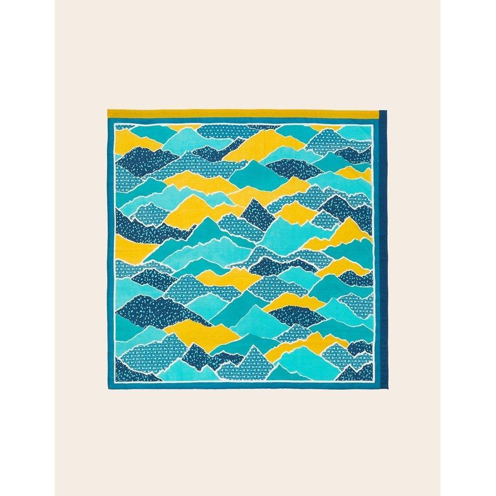 Foulard femme coton carré Maxi - LA FIANCEE DU MEKONG - Modalova