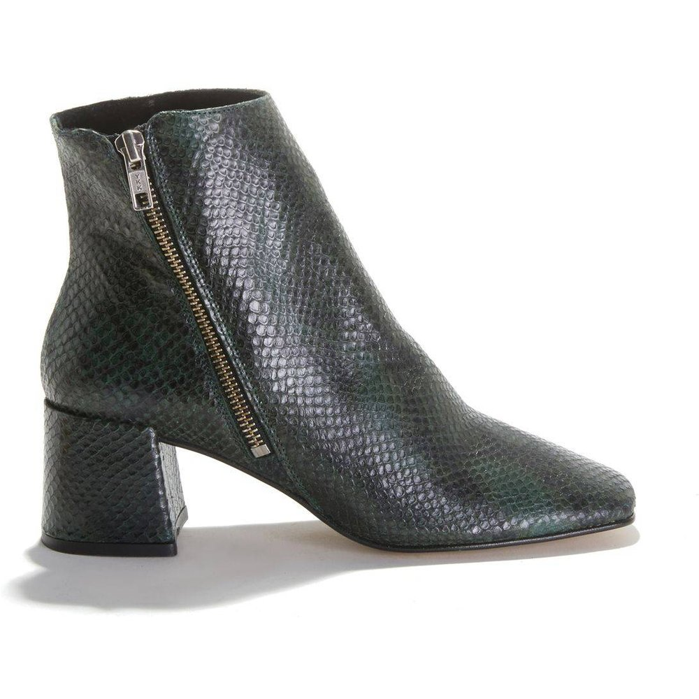 Boots en cuir motif reptile ADNILE - JONAK - Modalova