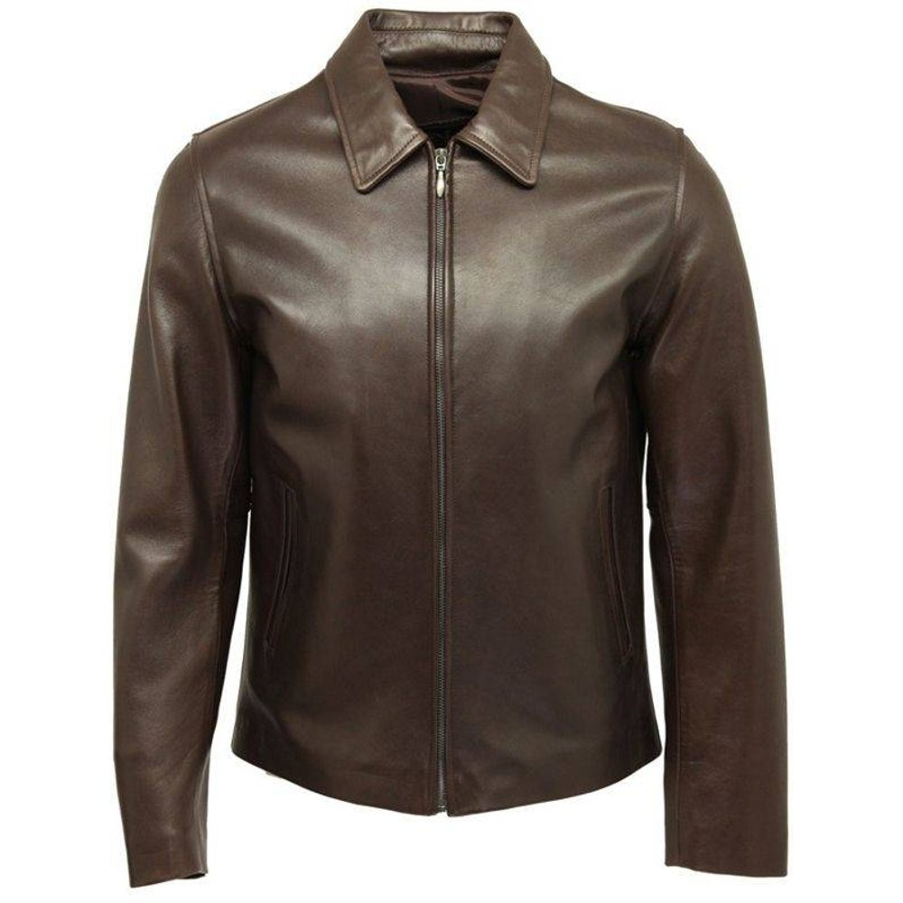 Blouson cuir ELY, Made in France - DKS - Modalova
