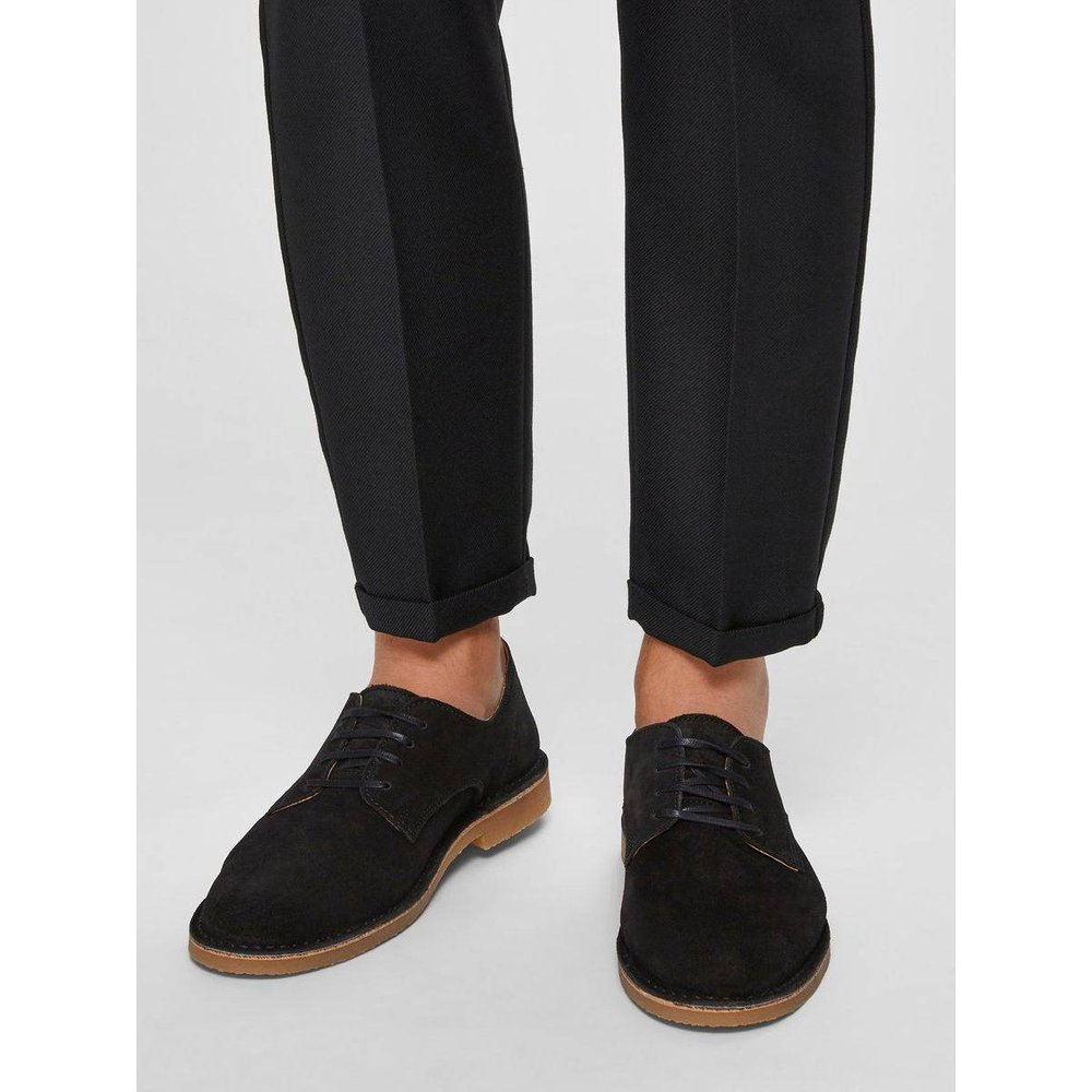 Chaussures derby Daim  - Selected Homme - Modalova