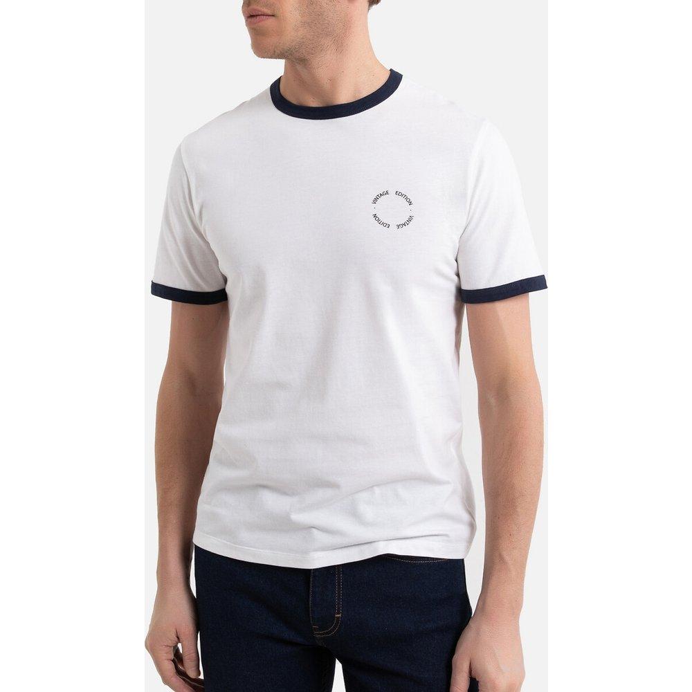 T-shirt col rond manches courtes - LA REDOUTE COLLECTIONS - Modalova