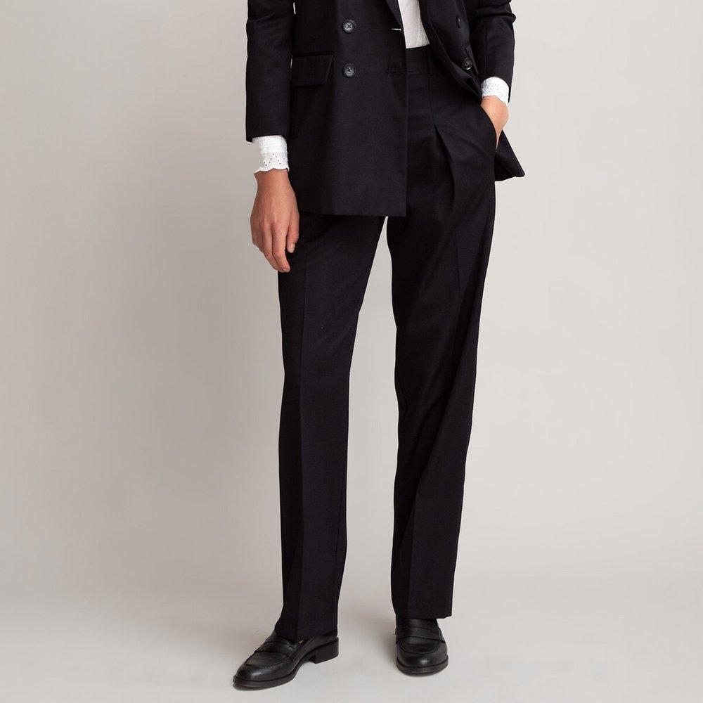 Pantalon large à pinces, taille haute - LA REDOUTE COLLECTIONS - Modalova