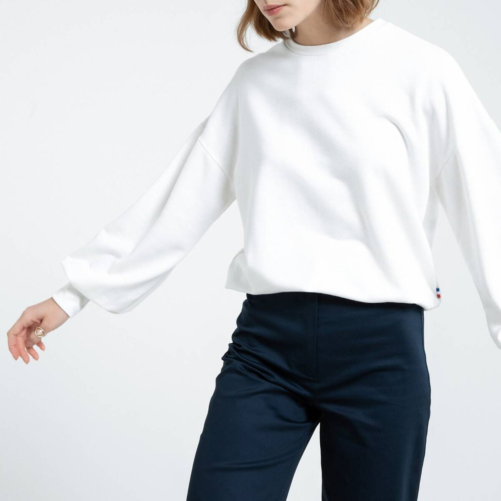 Sweat manches amples made in France - LA REDOUTE COLLECTIONS - Modalova