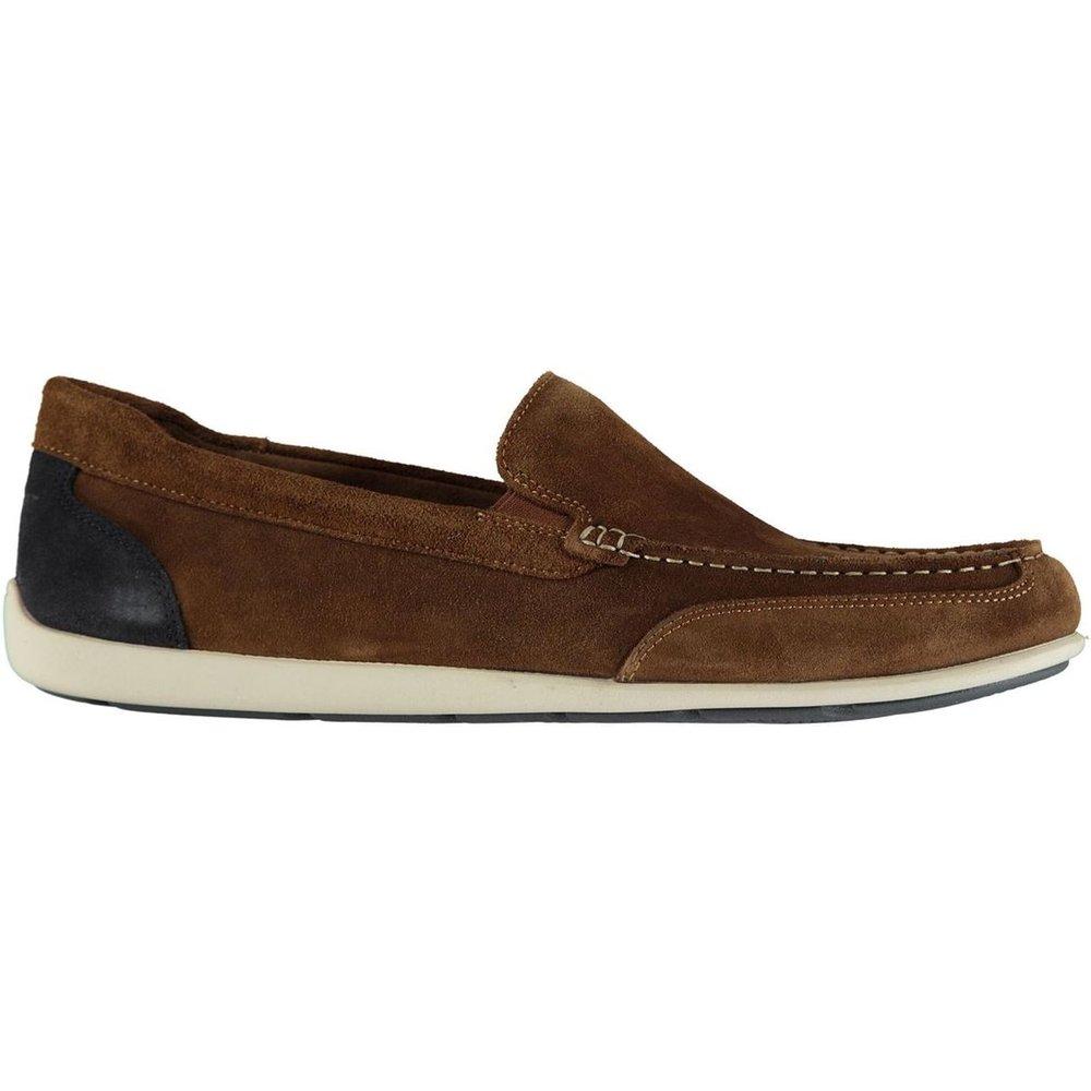 Chaussures bateau en daim - Rockport - Modalova
