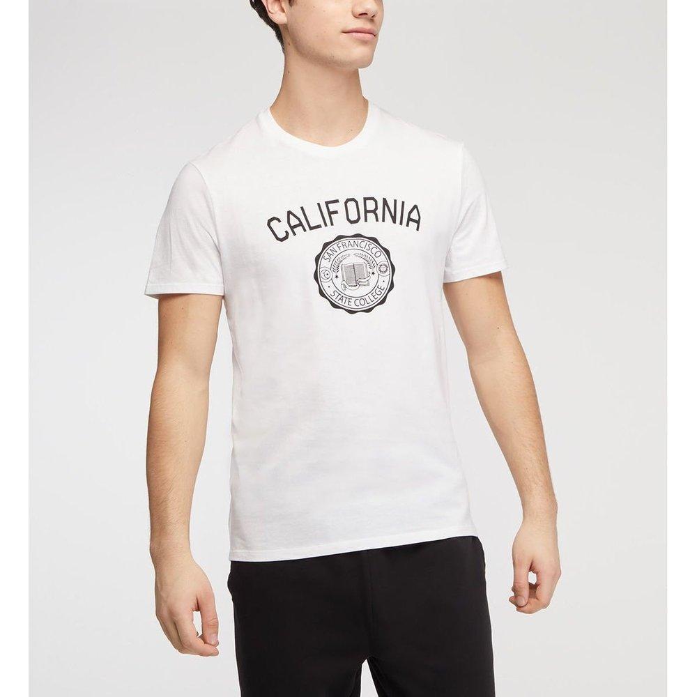 T-shirt Parsity Droit Coton Biologique - GALERIES LAFAYETTE - Modalova