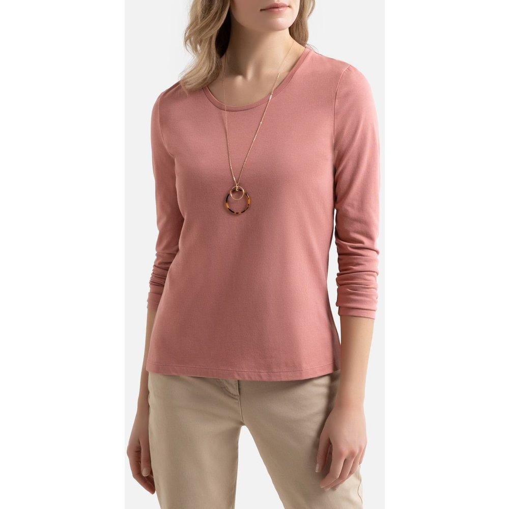 Tee shirt col rond manches longues - Anne weyburn - Modalova