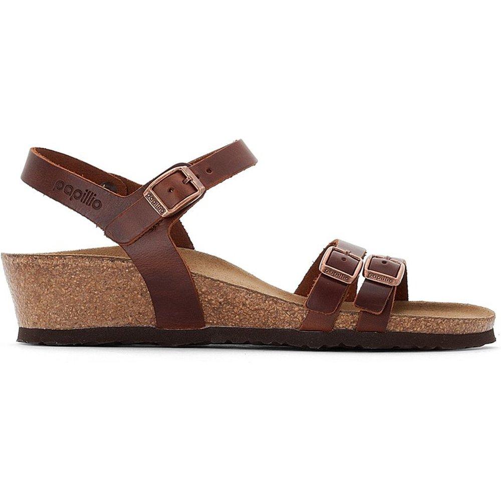 Sandales plates cuir Lana - Birkenstock - Modalova