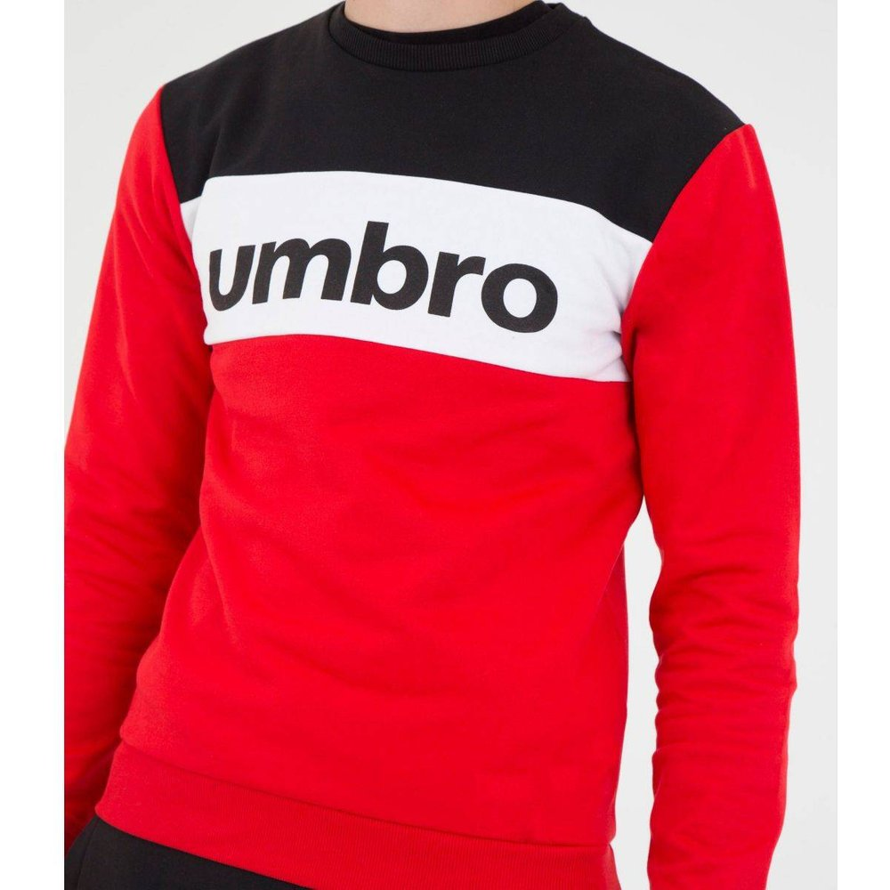 Pull A Col Rond Authentic Big Logo Coton - Umbro - Modalova