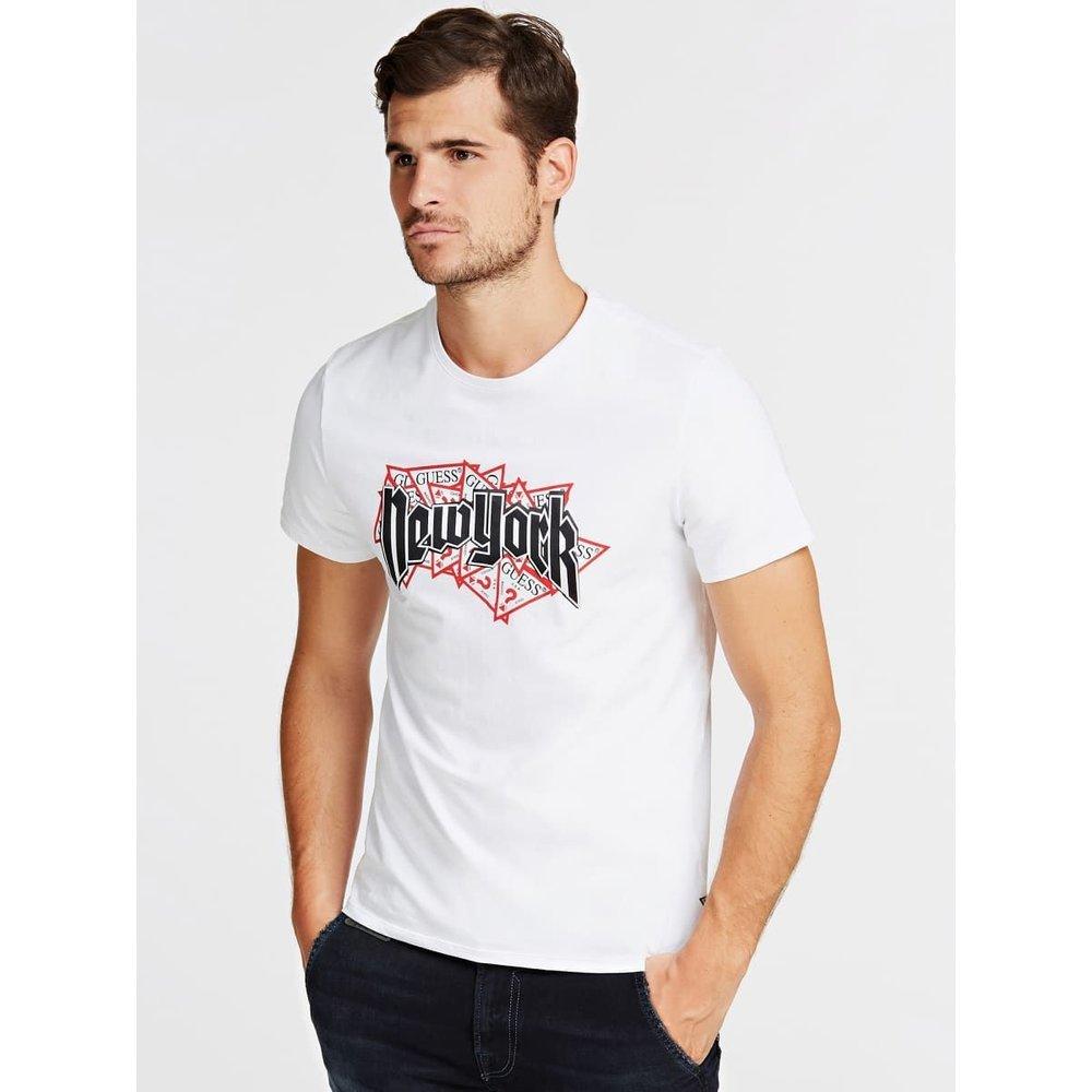 T-Shirt Logo Frontal - Guess - Modalova