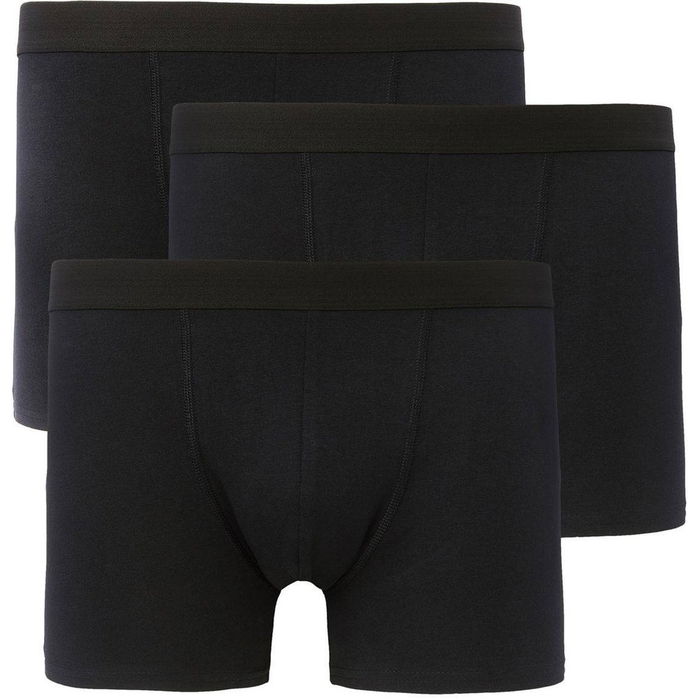 Lot de 3 boxers longs et unis - LA REDOUTE COLLECTIONS - Modalova