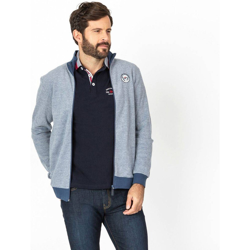Sweat zippé REVERZIP - TBS - Modalova