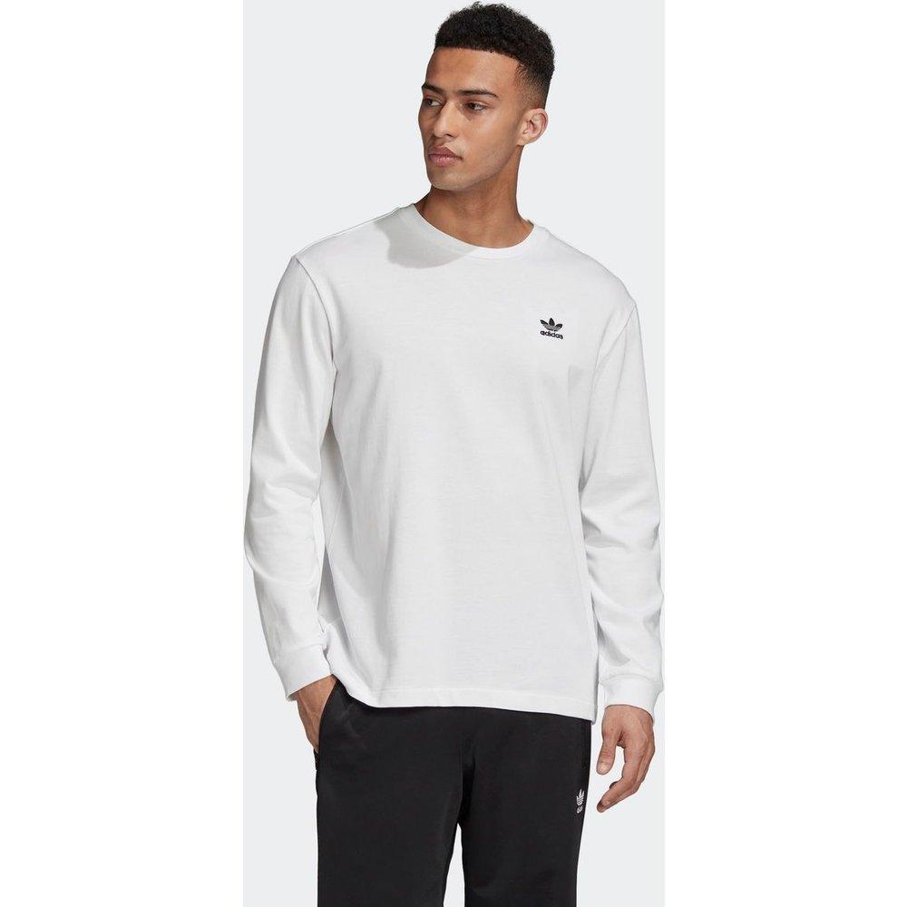 T-shirt Back + Front Print Trefoil Long Sleeve - adidas Originals - Modalova