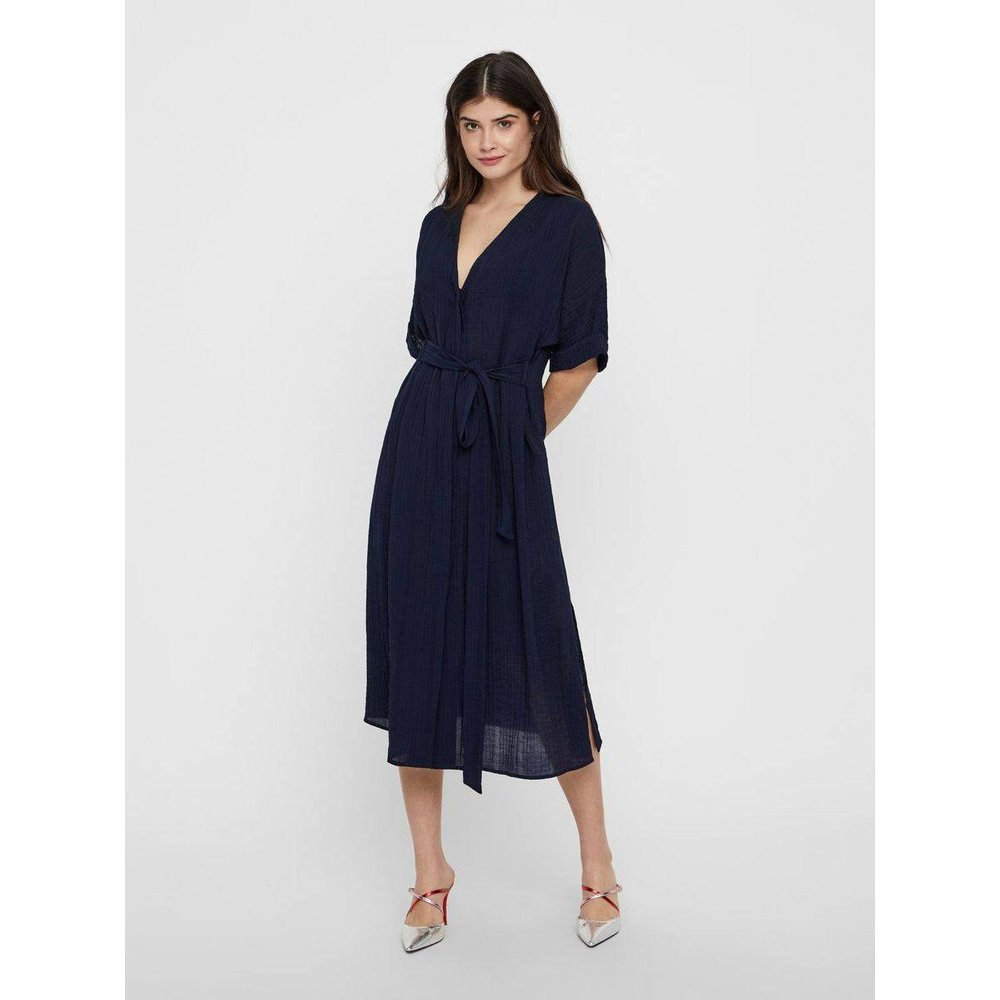 Robe-chemise Texturé - YAS - Modalova