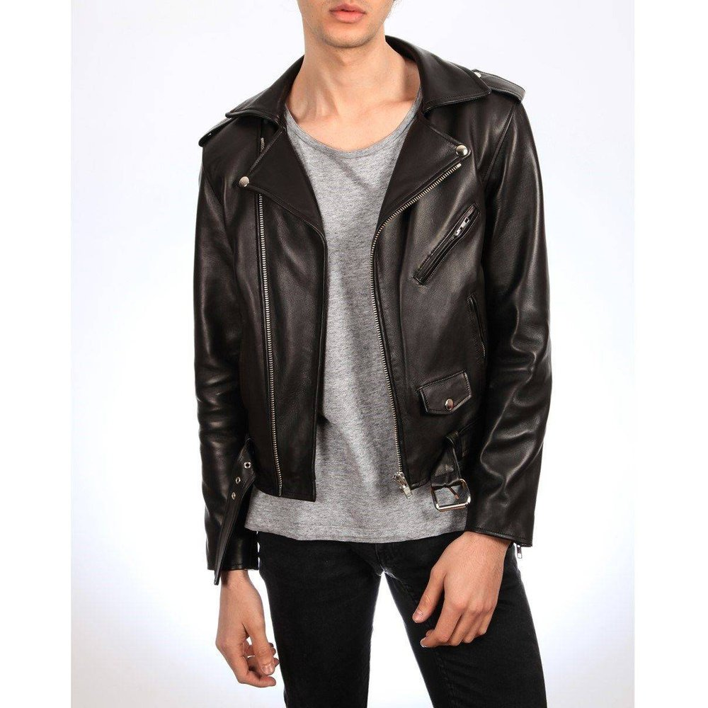 Blouson cuir souple EZRA , made in France - DKS - Modalova