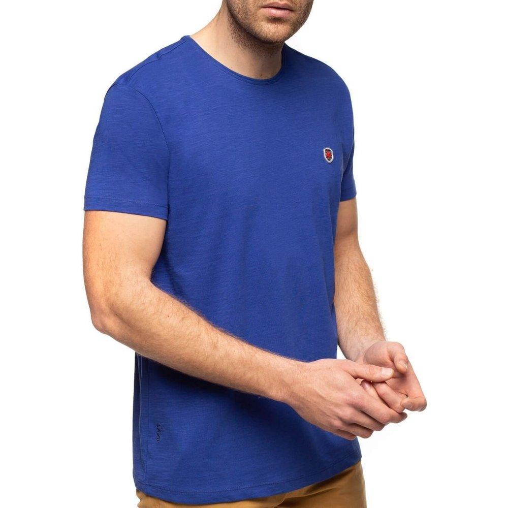 T-shirt basique fil laine manches courtes - SHILTON - Modalova