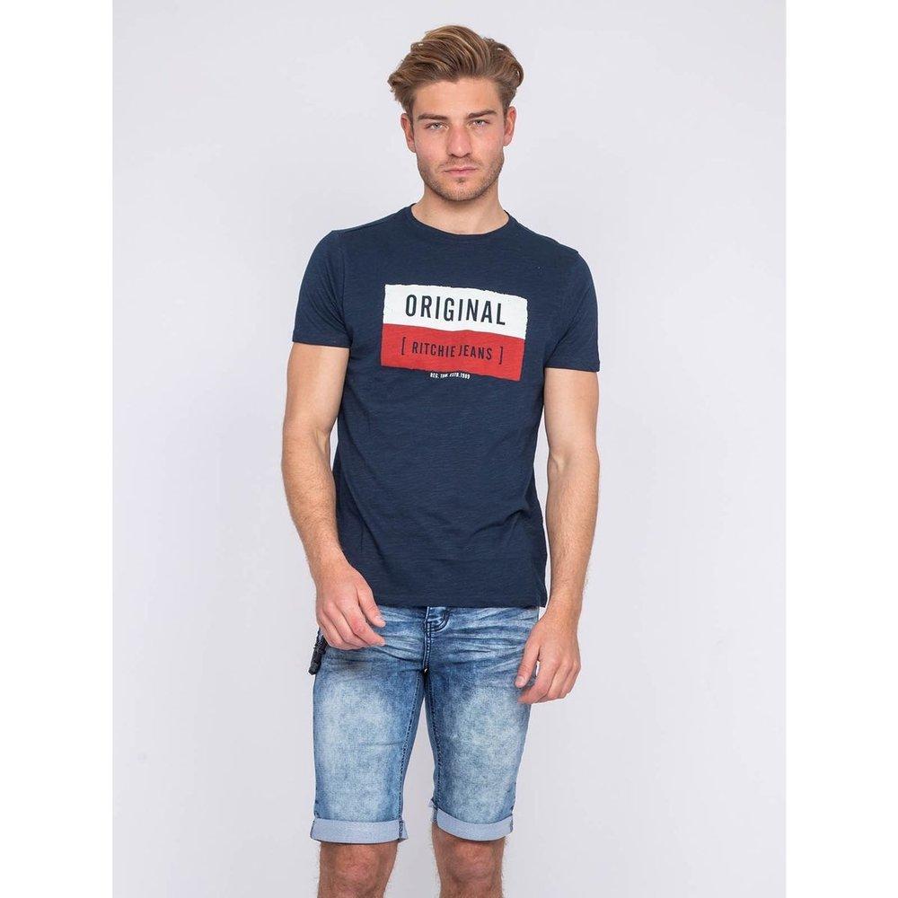T-shirt Col Rond Newman - RITCHIE - Modalova