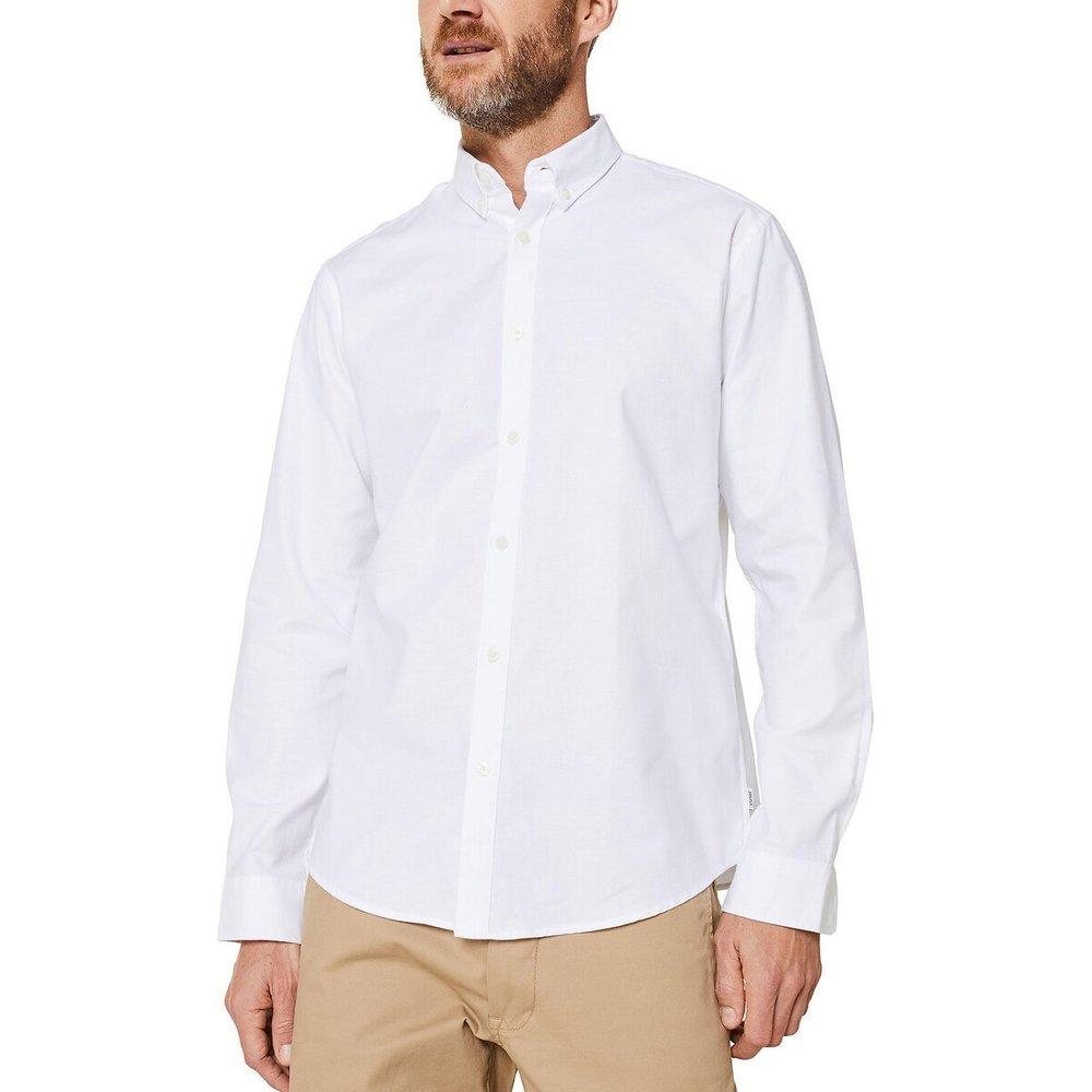 Chemise droite en oxford - Esprit - Modalova