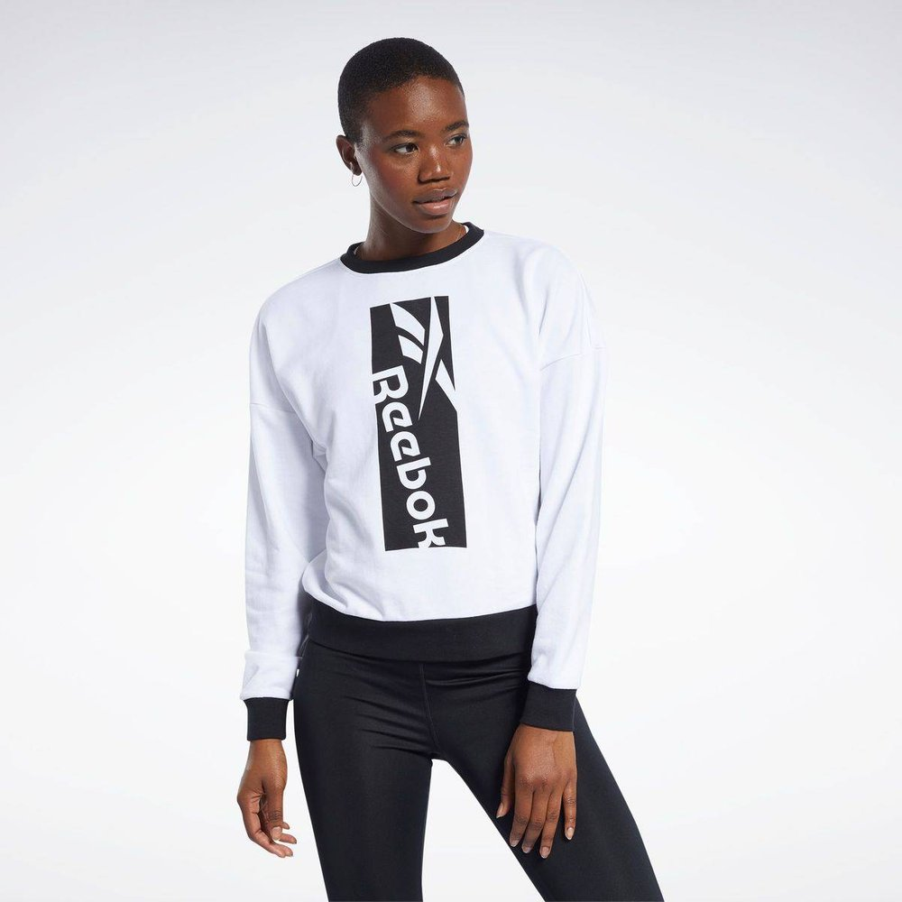 Sweat avec grand logo Workout Ready - REEBOK SPORT - Modalova