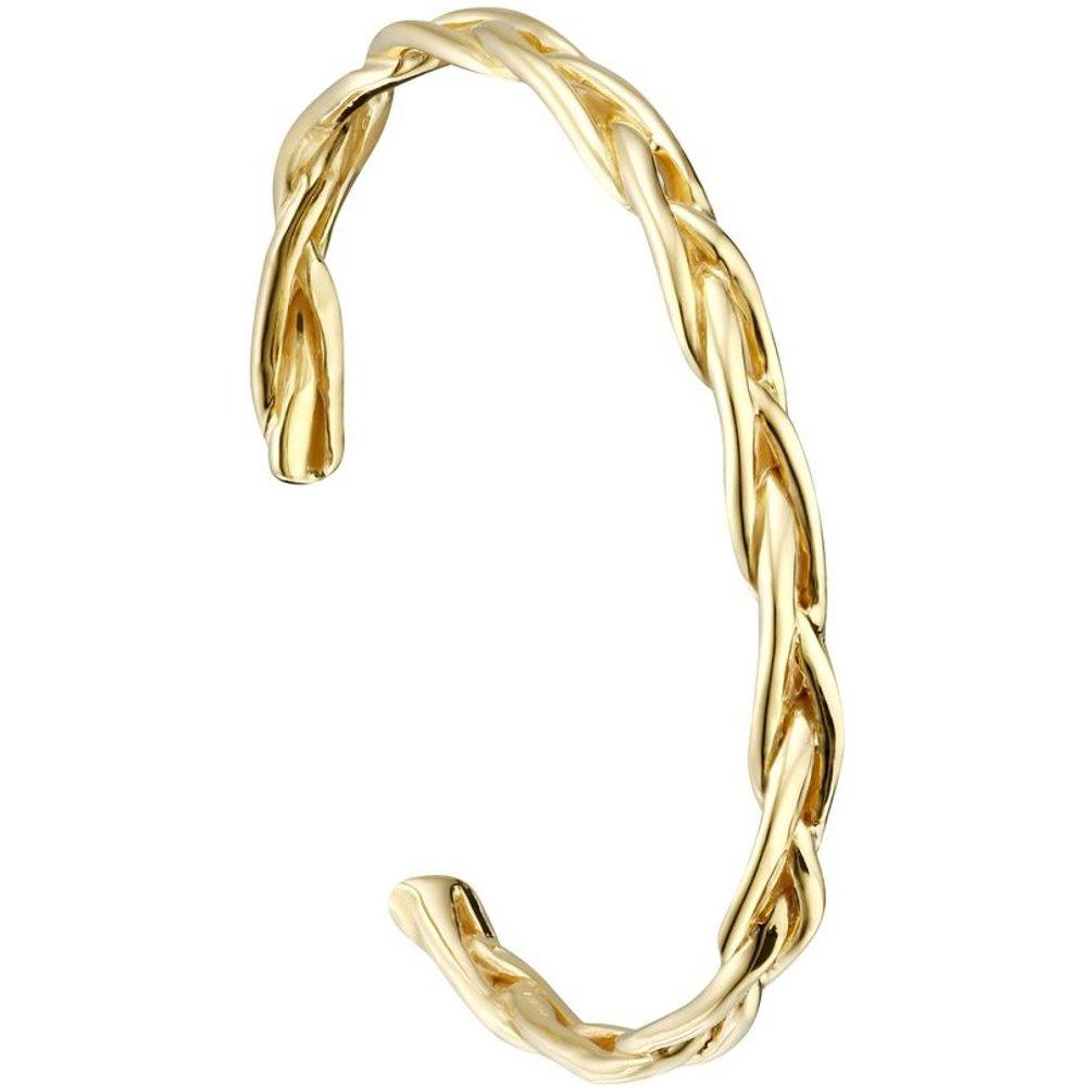 Bracelet jonc tressé en argent 925, 14.6g, Ø60mm - Canyon - Modalova