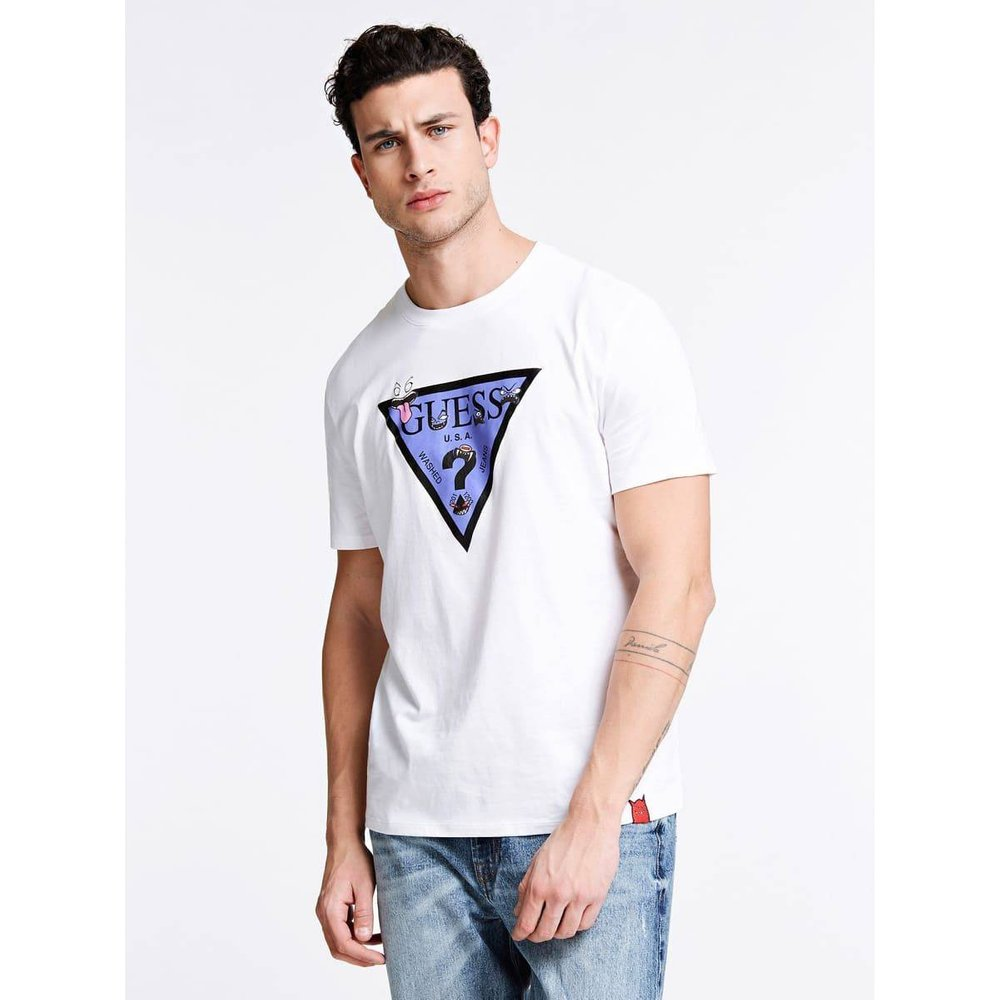 T-Shirt Logo Triangle - Guess - Modalova