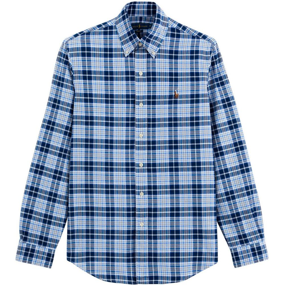 Chemise droite custom fit en oxford - Polo Ralph Lauren - Modalova