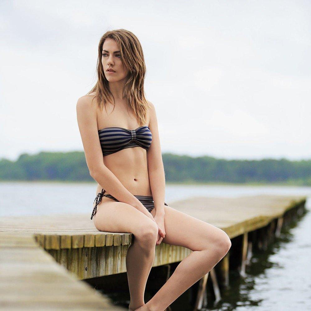 Haut de maillot de bain bandeau kalya - Morgan - Modalova