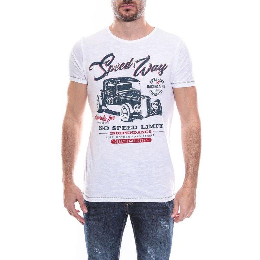 T-shirt Col Rond Coton Kj Najou - RITCHIE - Modalova