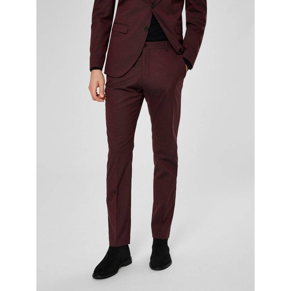 Pantalon de costume Coupe slim  - Selected Homme - Modalova