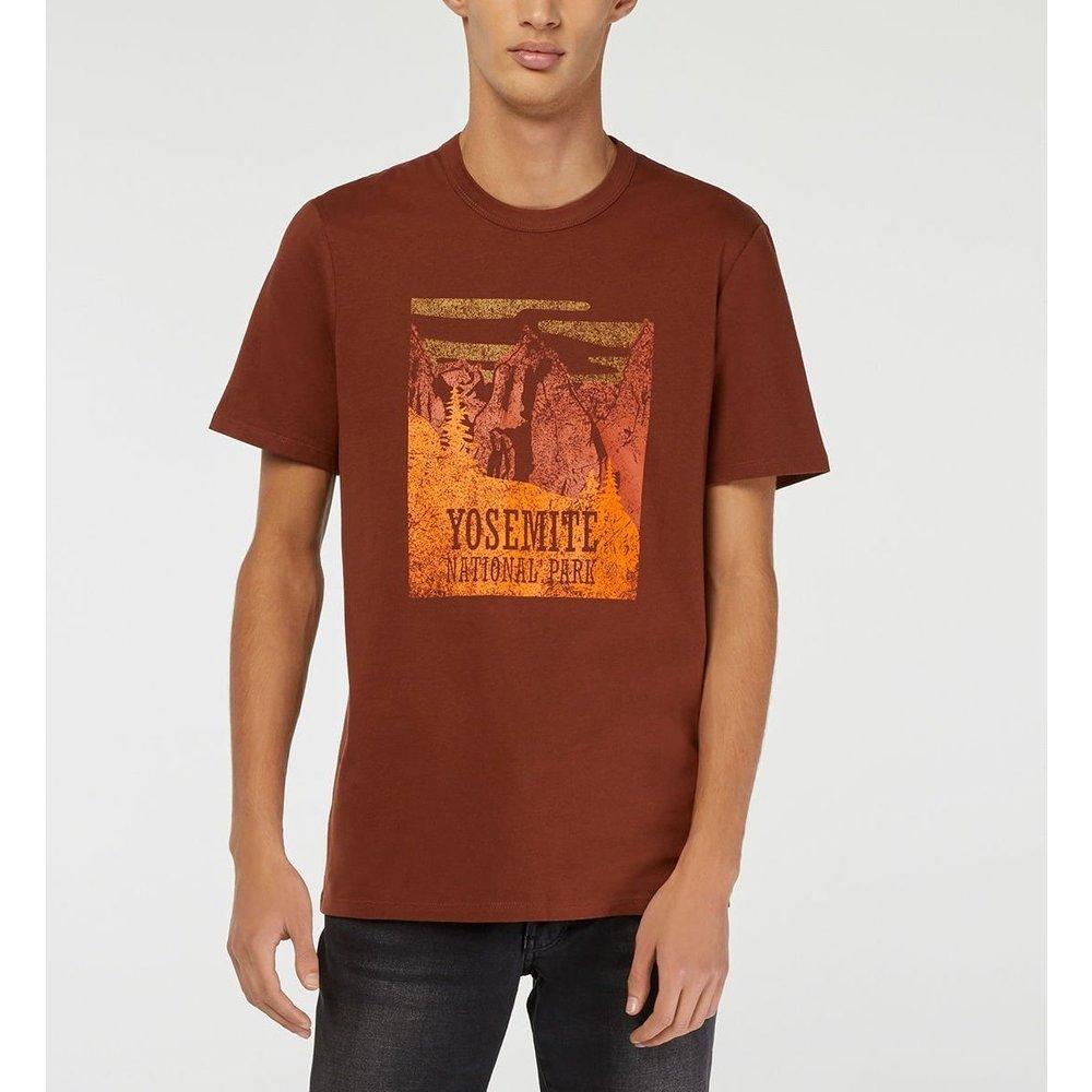 T-shirt Gotiwon Coton Biologique Montagnes - GALERIES LAFAYETTE - Modalova