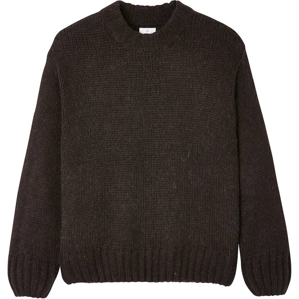 Pull col rond en grosse maille - LA REDOUTE COLLECTIONS - Modalova