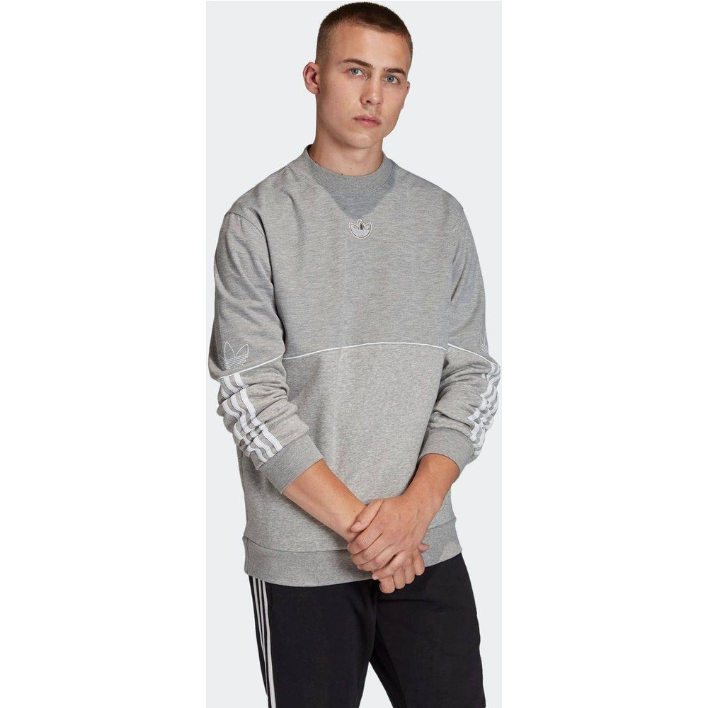 Sweat-shirt Outline Crewneck - adidas Originals - Modalova