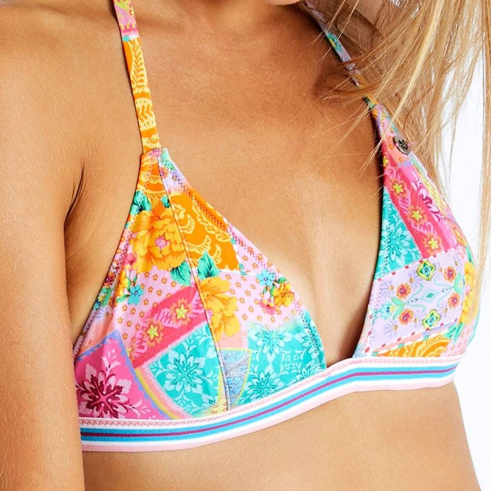 Haut de bikini Triangle ISO PATCHWORK - banana moon - Modalova