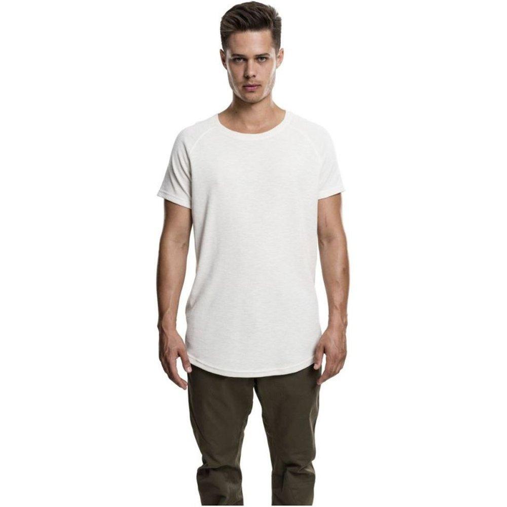 T-shirt long gauffré - URBAN CLASSICS - Modalova