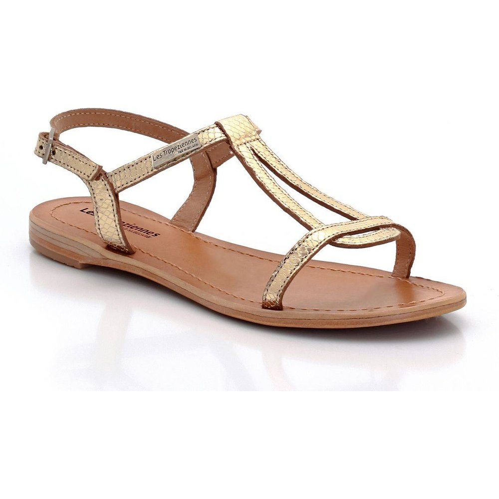 Sandales cuir Hamat - LES TROPEZIENNES PAR M BELARBI - Modalova