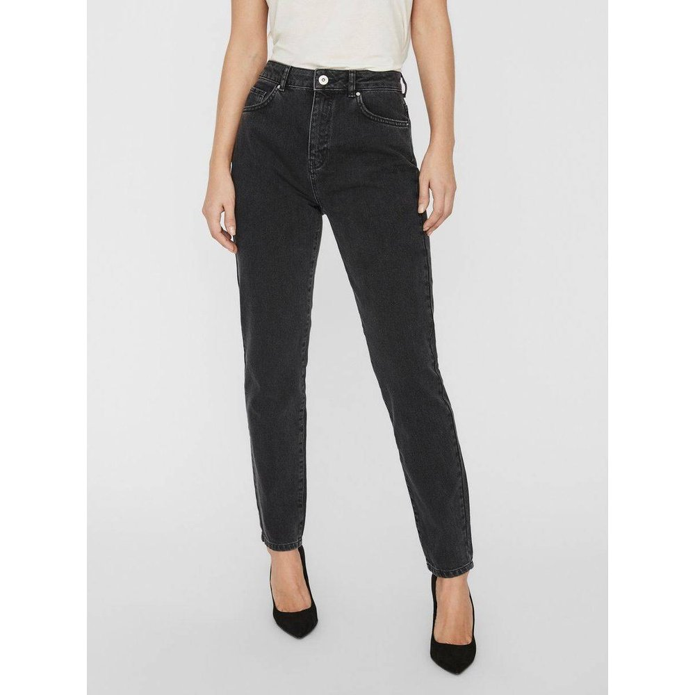 Jean mom Taille haute - Noisy May - Modalova