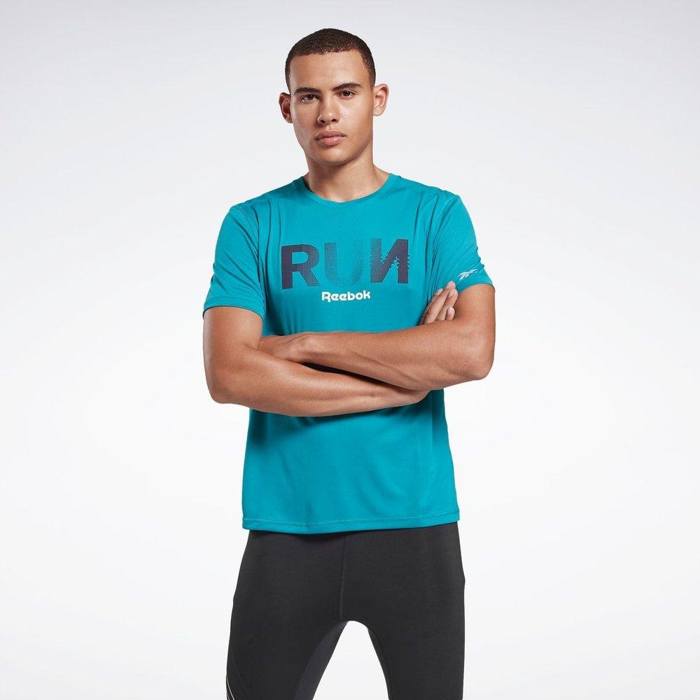 T-shirt imprimé Running Essentials - REEBOK SPORT - Modalova