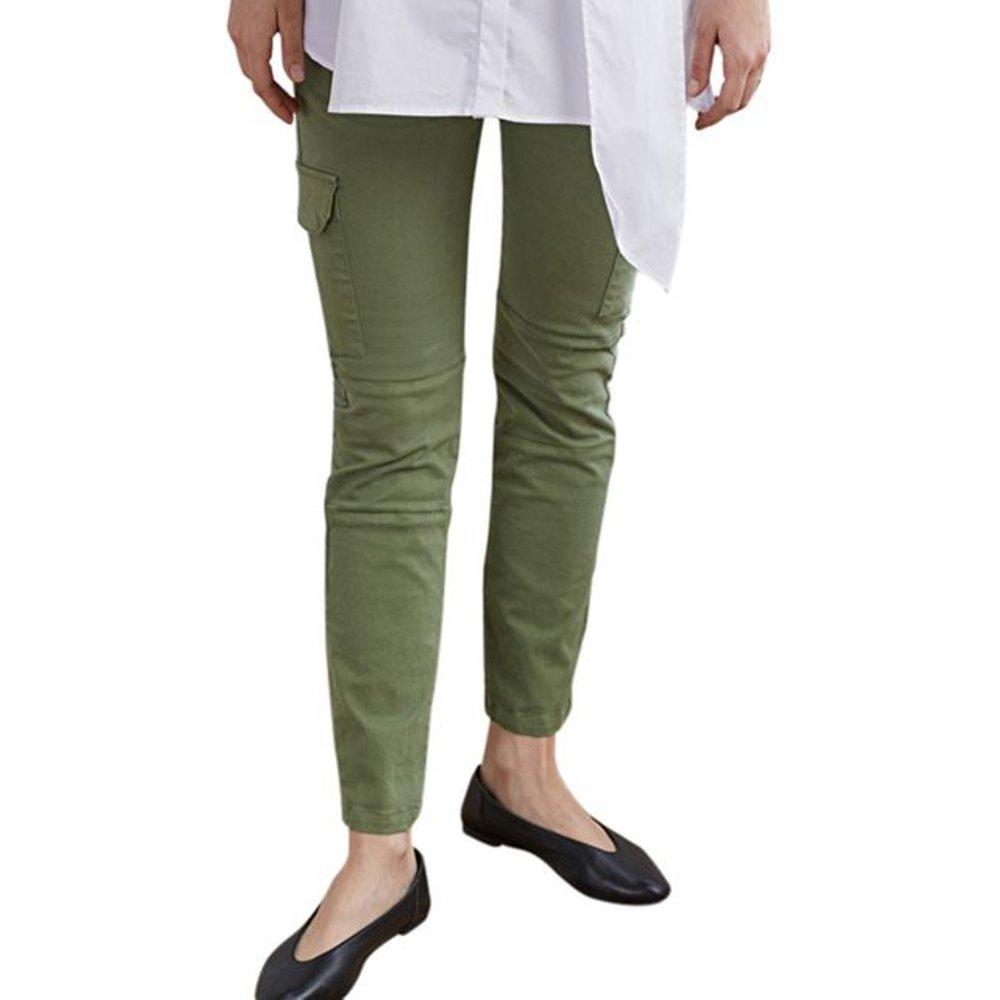Pantalon stretch de grossesse - Isabella Oliver - Modalova