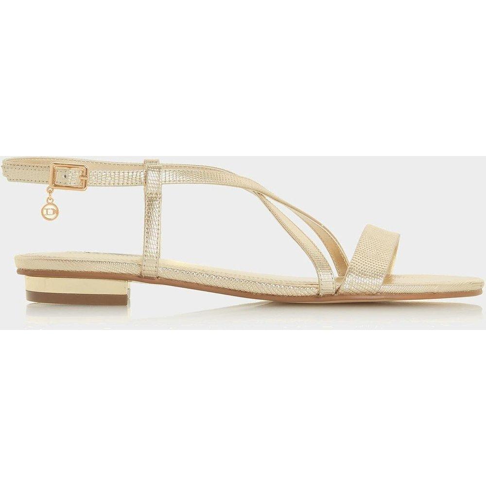 Sandales plates à brides croisées - NENNA - DUNE LONDON - Modalova