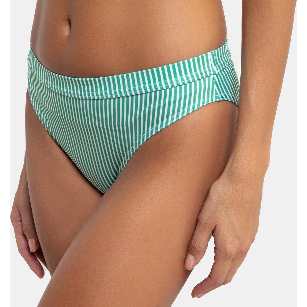 Bas de maillot de bain culotte bikini à rayures - LA REDOUTE COLLECTIONS - Modalova