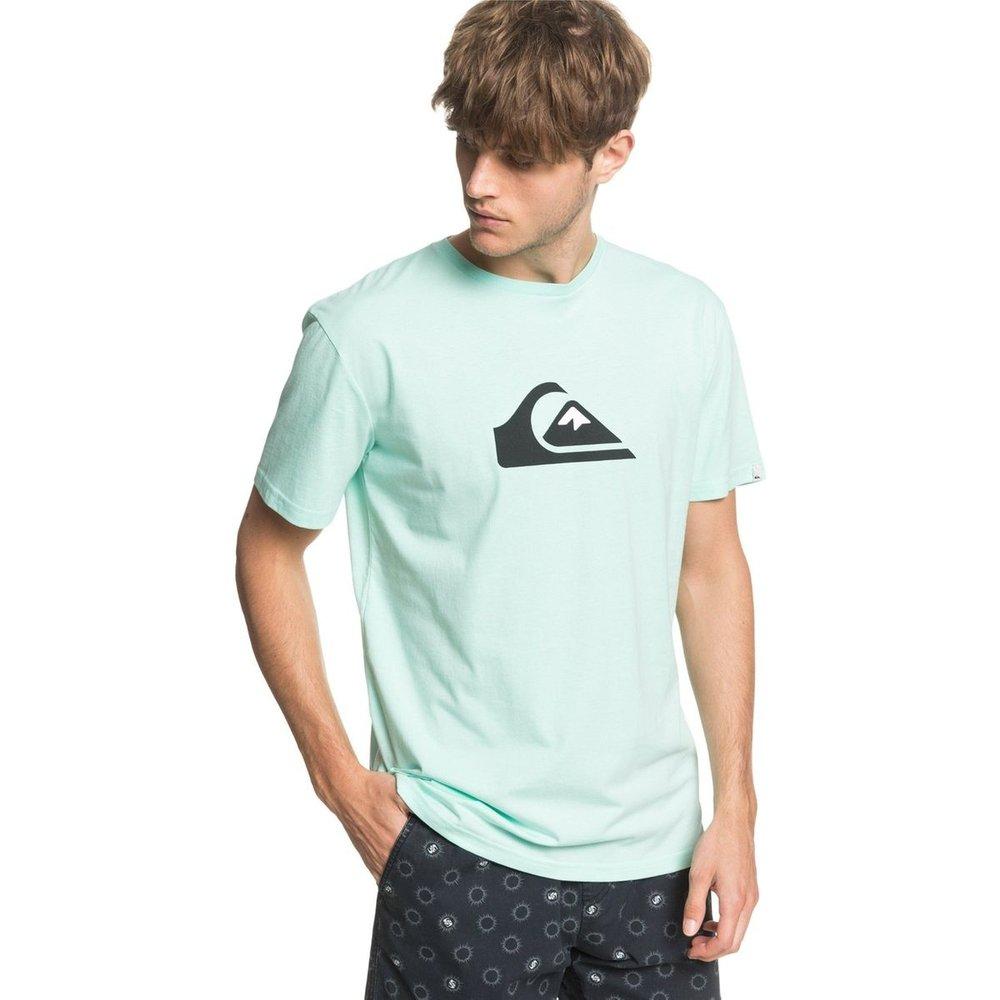 T-shirt Comp Logo - Quiksilver - Modalova