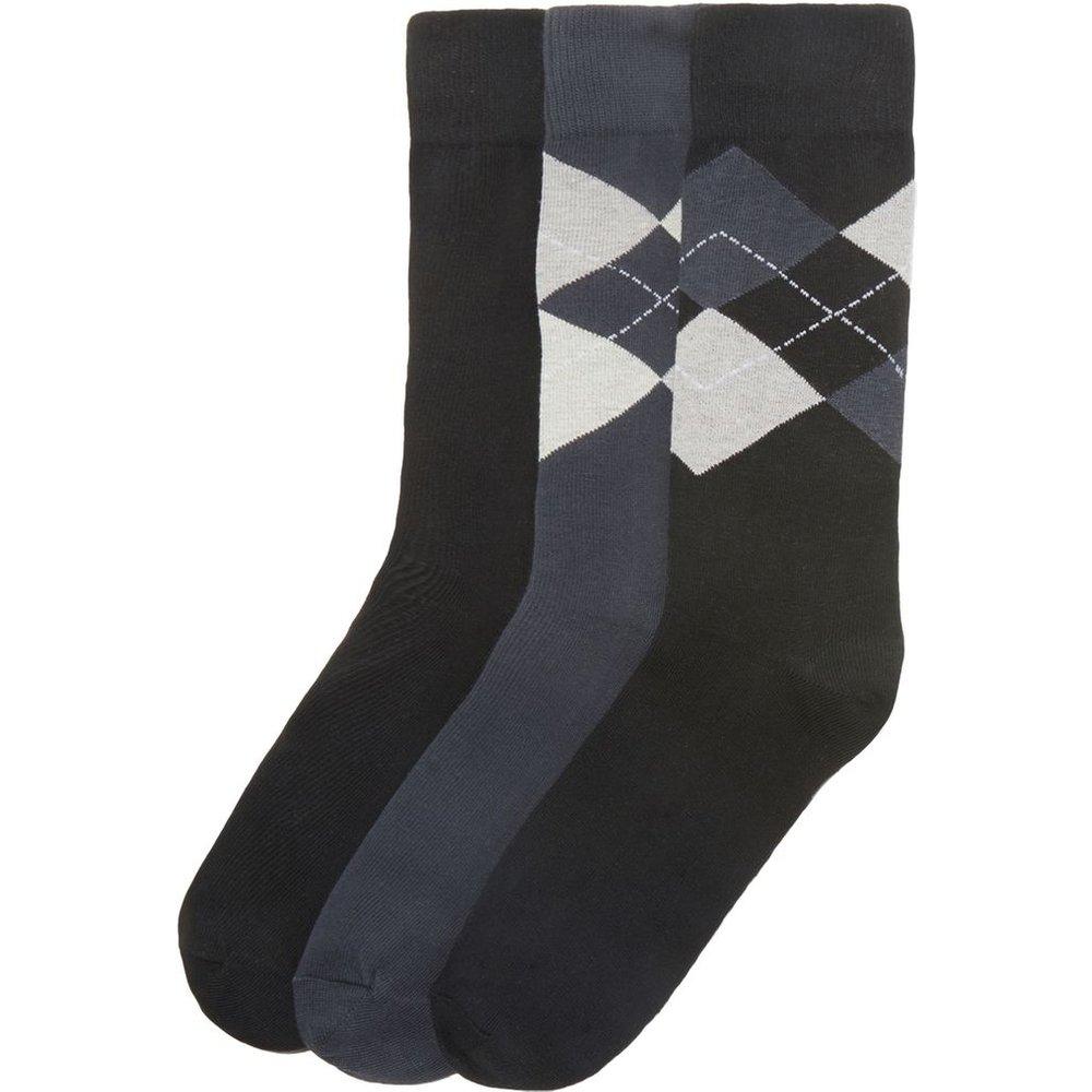 Lot de 3 paires de chaussettes - LA REDOUTE COLLECTIONS - Modalova