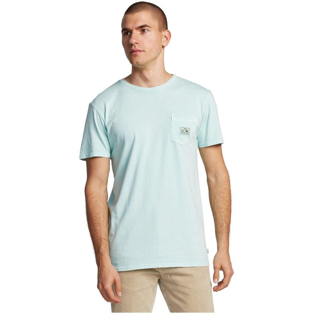 T-shirt avec poche col rond, manches courtes - Quiksilver - Modalova