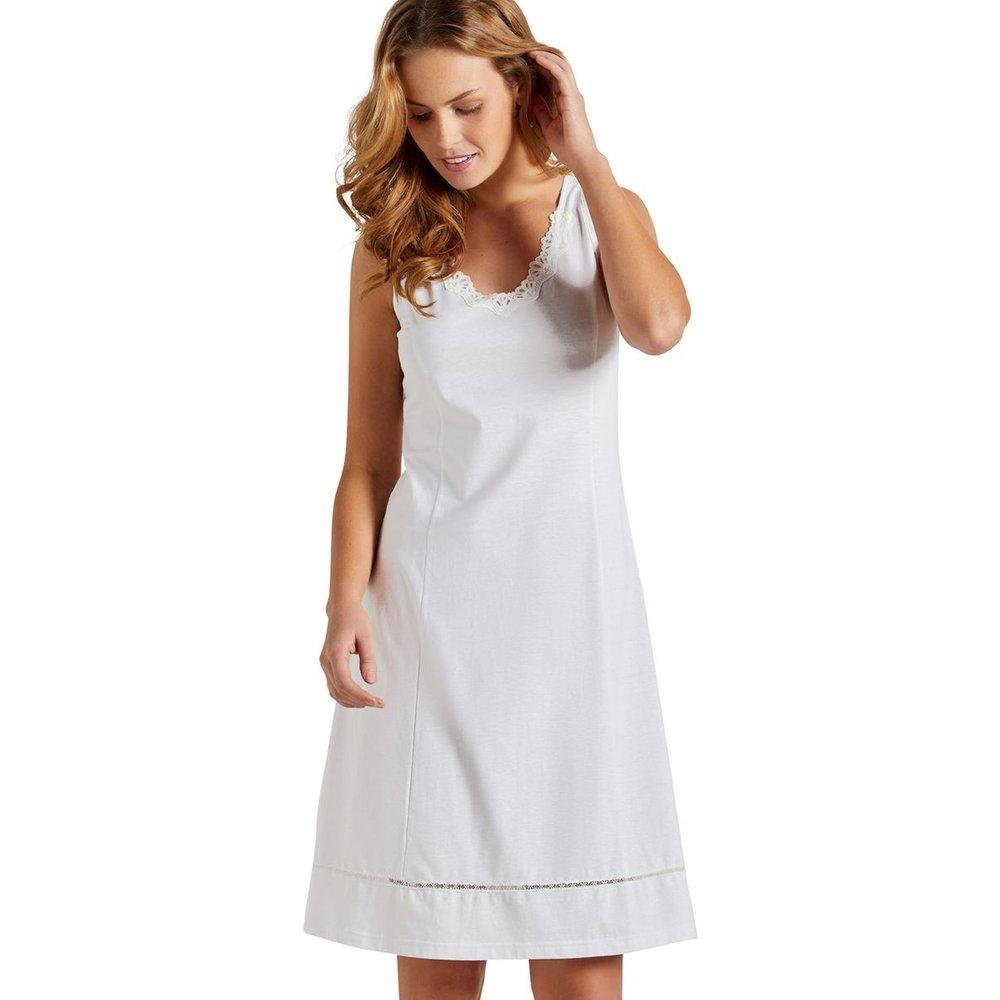 Fond de robe en pur coton - LINGERELLE - Modalova