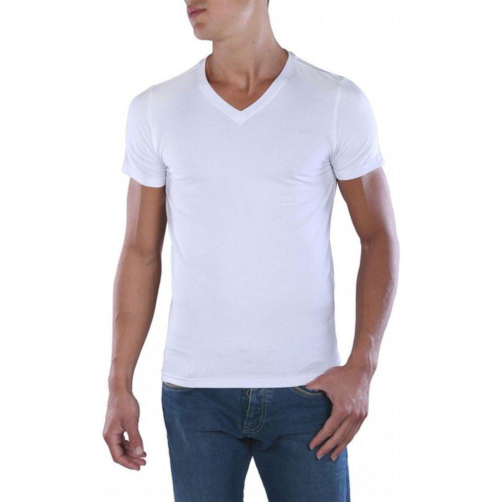 Tee-shirt coton col V Tawax - Teddy smith - Modalova