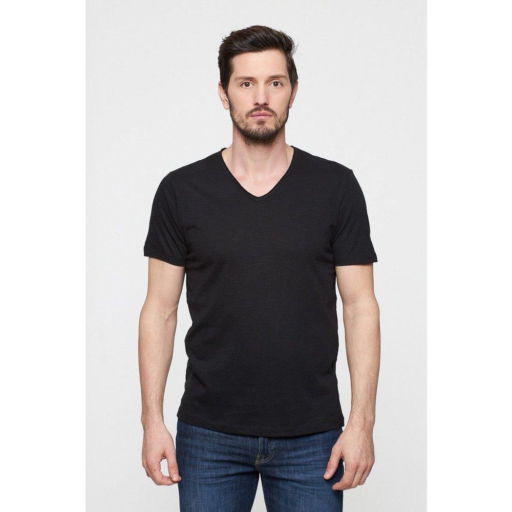 T-shirt en coton col V - BEST MOUNTAIN - Modalova